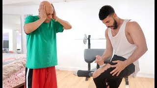 STEROID PRANK ON STRICT DAD!!! (GONE WRONG)