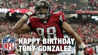 Tony Gonzalez 41 Touchdowns to Celebrate his 41st Birthday!   NFL