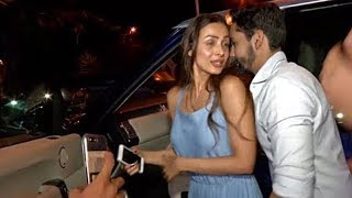 Malaika Arora With Her New Boyfriend Spotted At Bastian Bandra