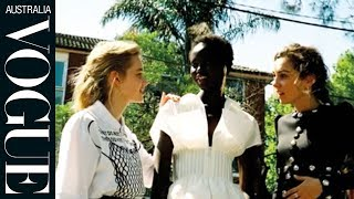 Adut Akech, Amy Shark and Angourie Rice | Celebrity Interview | Vogue Australia
