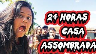 24 HORAS NA CASA ASSOMBRADA ?!?
