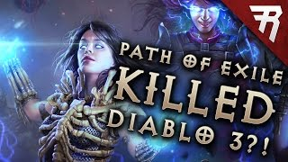 Rhykker is playing Path of Exile. PoE KILLED DIABLO 3?!?
