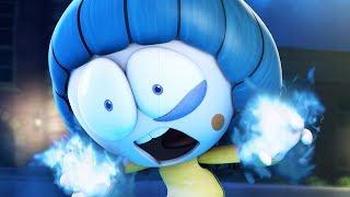 Funny Animated Cartoon | Spookiz Furious Kong Kong Secret Snowball Powers | Cartoon for Children