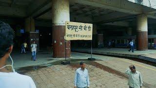 Navi Mumbai Belapur CBD local railway station.नवी मुंबई बेलापुर रेलवे स्टेशन.Local Train Station