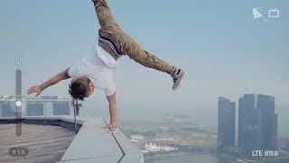 Gamblerz Crew // LG Commercial // Hanging Off The Skyscraper!