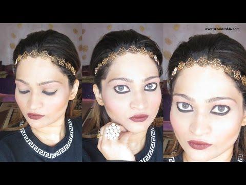 Greek Goddess Makeup by South Indian  Priyanka George - Makeup Tutorial