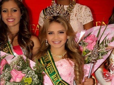 Garota supera abandono e cegueira para se tornar Miss Brasil