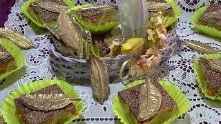 جديد الحلويات حلوة الريشة من ثلاث طبقات  وذوق لا يقاوم ممممم من مطبخ سلسبيل / gâteaux la plume