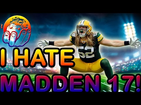 MADDEN 17 IS A SPECIAL GAME MADE FOR SPECIAL PEOPLE I Hate Madden 17 With All My Heart
