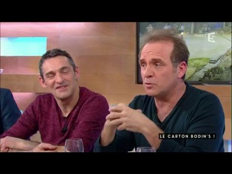 Les Bodins rencontrent Dechavanne - C à vous - 22/02/2017