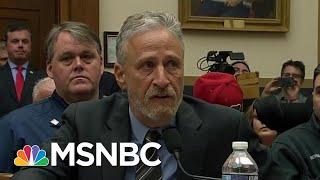 "9/11 Responder Backs Stewart: ""No Question"" GOP Blocking Money | The Beat With Ari Melber | MSNBC"