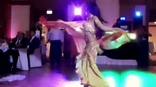 *Isabella Belly Dance Performance at a Turkish/Arabic Wedding 2015 HD