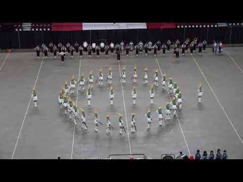 加拿大 Calgary Stampede WAMSB Y2019 決� 北一女樂儀旗隊表演