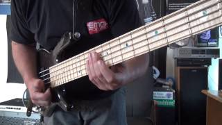 DOUBLE POPPING SLAP BASS LESSON WITH ANDY IRVINE | BassTheWorld.com
