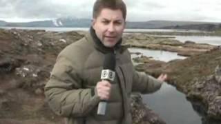 Fantastico 12-06-11 - Islândia poderá se rachar ao meio, dizem os geólogos.