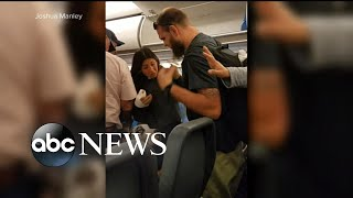 2 families outraged after incident with service dog on flight