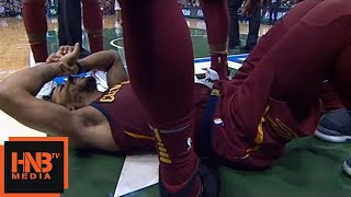 Greg Monroe Hard Foul vs Derrick Rose / Cavs vs Bucks / 2017 NBA Season