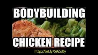 Bodybuilding cooking - Baked crispy chicken nuggets recipe