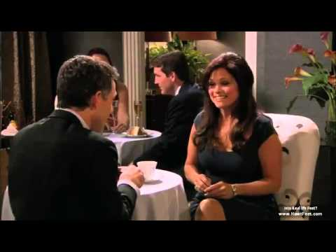 Funny Hot In Cleveland foot fetish scene with Valerie Bertinelli