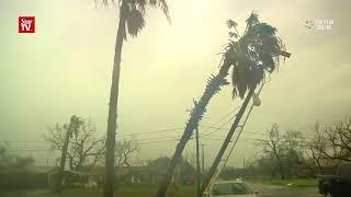 Tropical Storm Harvey leaves behind path of destruction