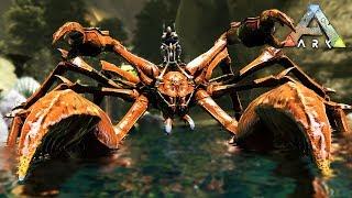 ARK: Survival Evolved - TAMING A GIANT CRAB!! (ARK Aberration)