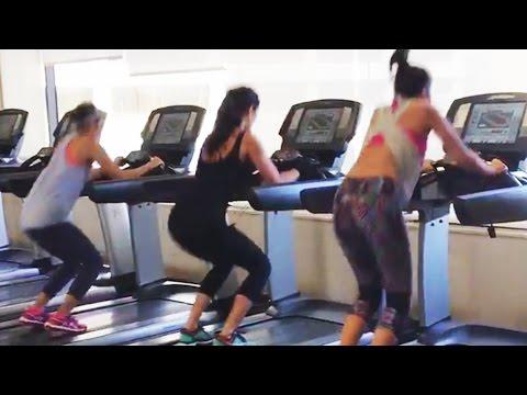 Xxx Mp4 Katrina Kaif Alia Bhatt Parineeti HOT Workout In Gym Dream Team 2016 3gp Sex