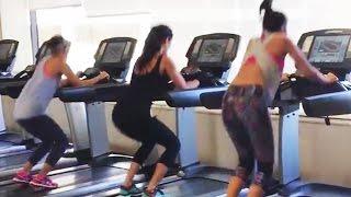 Katrina Kaif, Alia Bhatt, Parineeti HOT Workout In Gym | Dream Team 2016