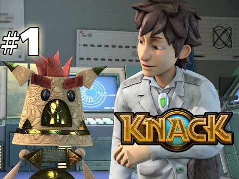 KNACK - GAMEPLAY WALKTHROUGH - PART 1 (HD PS4 Gameplay)