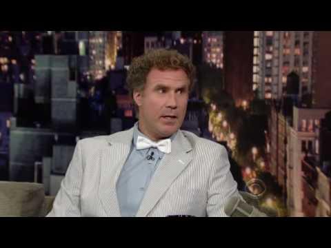 Will Ferrell on Letterman 08 02 2010 Part 1