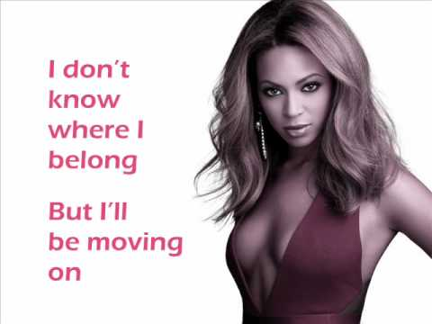 Beyonce listen lyrics