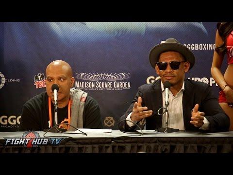 Golovkin vs. Jacobs THE FULL DANIEL JACOBS POST FIGHT PRESS CONFERENCE VIDEO