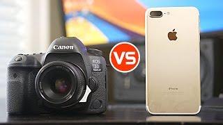 Depth of Field Comparison - iPhone 7 Plus vs Canon 5D Mark iV