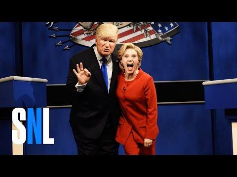 Xxx Mp4 Donald Trump Vs Hillary Clinton Debate Cold Open SNL 3gp Sex