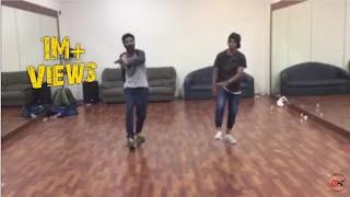 Prabhu deva sir dance rehearsal in mumbai