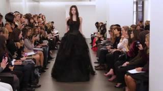 Vera Wang Fall 2012 Bridal: Backstage/Runway