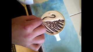 cisne de chocolate