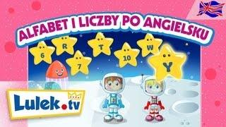 Angielski alfabet + liczby  🇬🇧 Lulek.tv