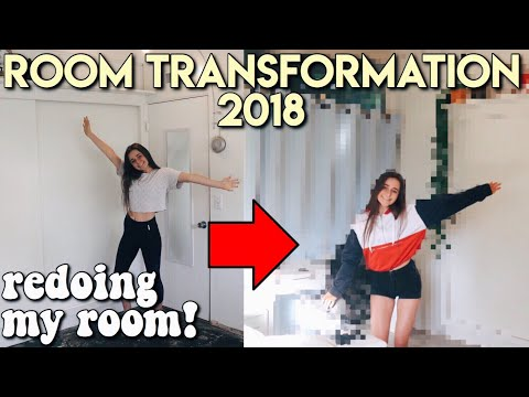 ROOM MAKEOVER 2018 redoing my room