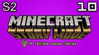 Minecraft Story Mode Let's Play: S2E3 Part 3 - Prisoner X