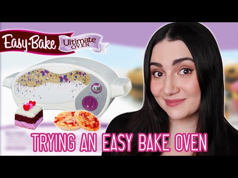 We Tried An Easy Bake Oven For The First Time
