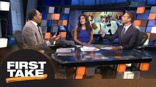 Stephen A., Max react to Cam Newton continuing to take shots at Kelvin Benjamin   First Take   ESPN