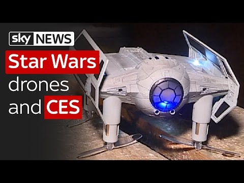Swipe CES 2017 & Star Wars laser drone gaming
