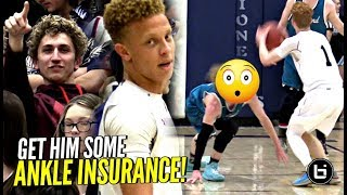 Nico Mannion Breaks Defender's Ankles In FIRST Playoff Game! #1 QB Approves!