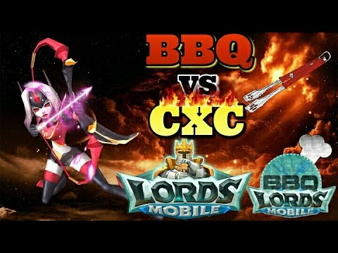 Xxx Mp4 Lords Mobile BBQ Vs CXC Must See War 3gp Sex