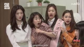 [ENG SUBS] SNL KOREA 7 [써니] I.O.I 김소혜, 욕쟁이 빙의! 160507