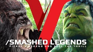 HULK VS KING KONG | BEST FIGHT SCENES MASHUP HD ✔