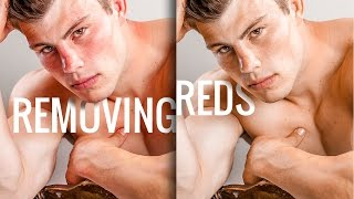 How to Remove Reds from Skin in Photoshop
