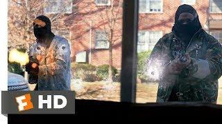Superfly (2018) - Barbershop Hit Scene (3/10) | Movieclips