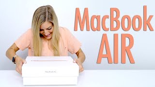 GOLD 2018 MacBook Air Unboxing!