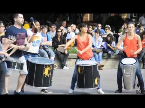 Flashmob Samba Teaser Festival des 25 ans de Samba Résille 24 et 25 juin 2017